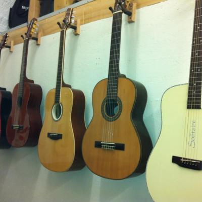 Guitares shop
