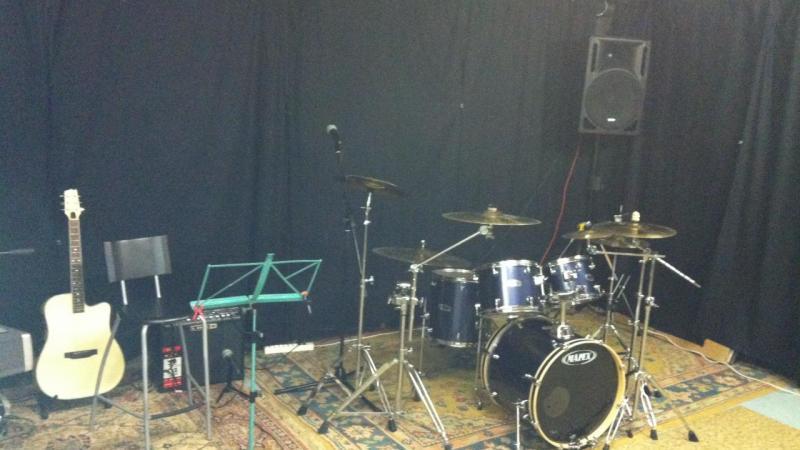 Salle de répétition des stages d'été (Chavornay)